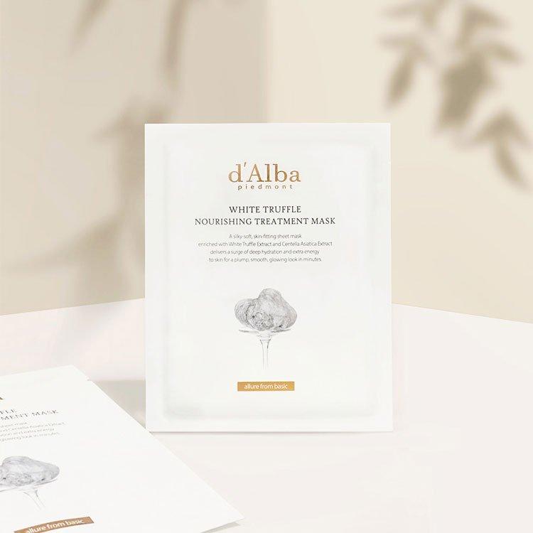 Шийт Маска d'Alba White Truffle Nourishing Treatment Mask 25 мл