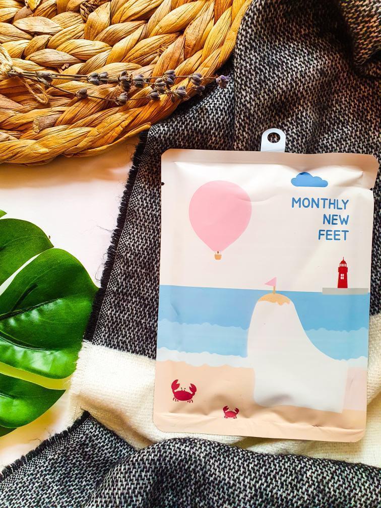 Ексфолиращи Чорапи Pack-age Monthly New Feet 25 гр