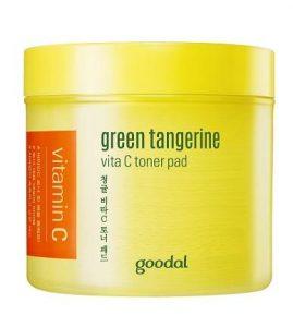 Почистващи Тампони за Лице Goodal Green Tangerine Vita C Toner Pad