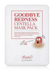 Шийт Маска Benton Goodbye Redness Centella Mask Pack 23g